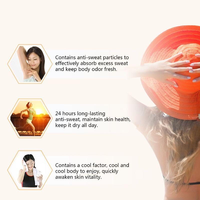 Antiperspirant Alum Deodorant Stick Natural Crystal Underarm Removal Anti-Sweat Women Man E8BB