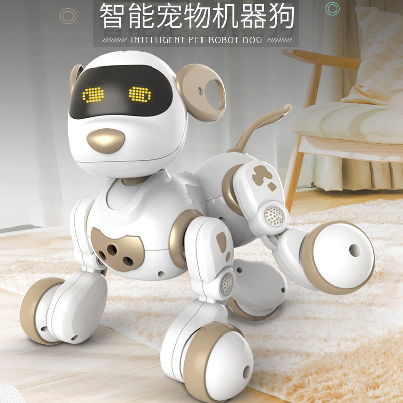 AMWELL 18011 Decatur Robot Dog Children Remote Control Electric Dialogue Walking Singing Pet Dog Educational Toy