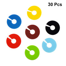 30pcs Round Shape Silicone Wine Cup Glass Markers Party Goblet Wine Drinking Cup Marking Tags (Random Color)(China)