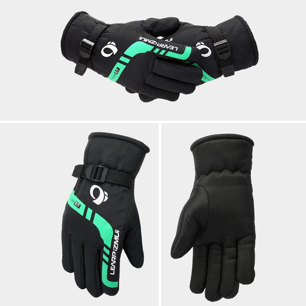 Hot Sale Riding Gloves Men Women Ski Gloves Snowboard Gloves Ultralight Waterproof Winter Snow Warm Velvet Motorcycle Snowmobile