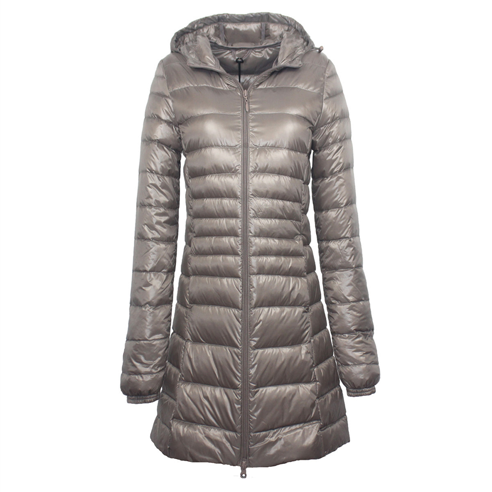Wipalo 7XL Plus Size Long Down Jacket Women Winter Ultra Light Down Jacket Women With Hooded Down Coat Female Big Size Coats