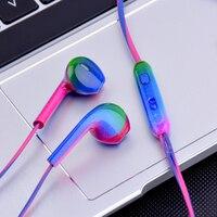 Sport Headsets Bass Gradienten Verdrahtete In Ohr Handys Kopfhörer Head Phones mit Mikrofon Musik Kopfhörer für Handy Computer PC