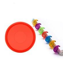 Прозрачный пластиковый диск с пряжкой «сделай сам» 30 шт 24