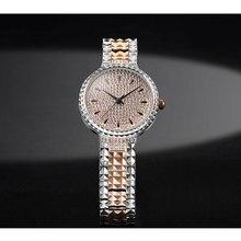 2020 New Devena Full Diamond Bracelet Watch Woman Quartz Watch Women Steel Band Watches Waterproof Top Brand Luxury Clock female цена 2017