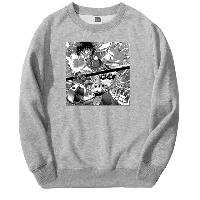 DEKU VS BAKUGOU THEMED SWEATSHIRT (8 VARIAN)