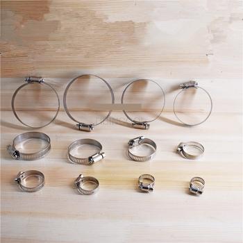 Wózek widłowy hoop wzmocniona fajka wodna hoop hoop zacisk wąż hoop 10MM-76MM uniwersalny wzmocniony hoop tanie i dobre opinie HBINCOOL CN (pochodzenie)