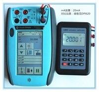Medidor de Tensão de Resistência LB02 4-20mA 0-10 V/mV Signal Generator Fonte PT100 temperatura termopar calibrador de processos Tester