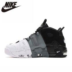 NIKE AIR UPTEMPO Оригинал Новое поступление Мужская баскетбольная обувь удобные спортивные кроссовки #921948-002