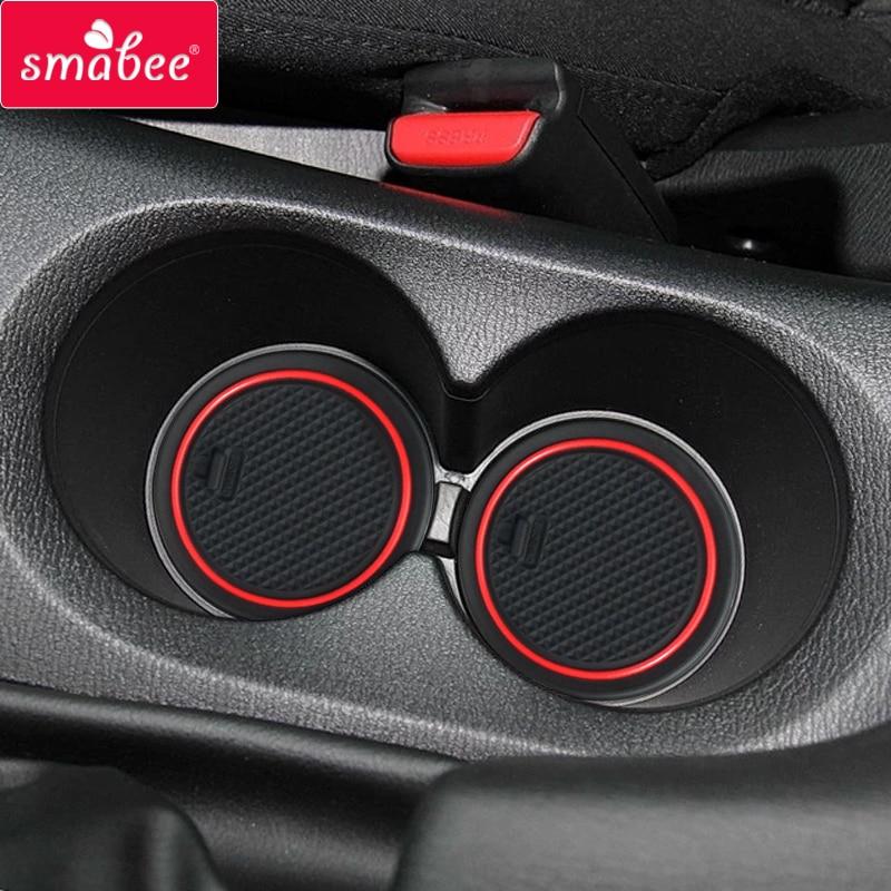 smabee Gate slot pad For Mazda 3 Maxx BN Series Auto 2014 2015 2016 Car Interior Accessories Non slip Door Groove Mat 14PCS pad pad - title=