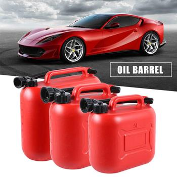 Fuel Tank Plastic Gasoline Container Gasoline Oil Barrel Car Jerry Can Petrol Cans Gas Cans 5L/10L/20L With Scale topauto 4 5l car fuel tank cap cover key oil gasoline diesel stainless steel storage petrol bucket car motorcycle accessories