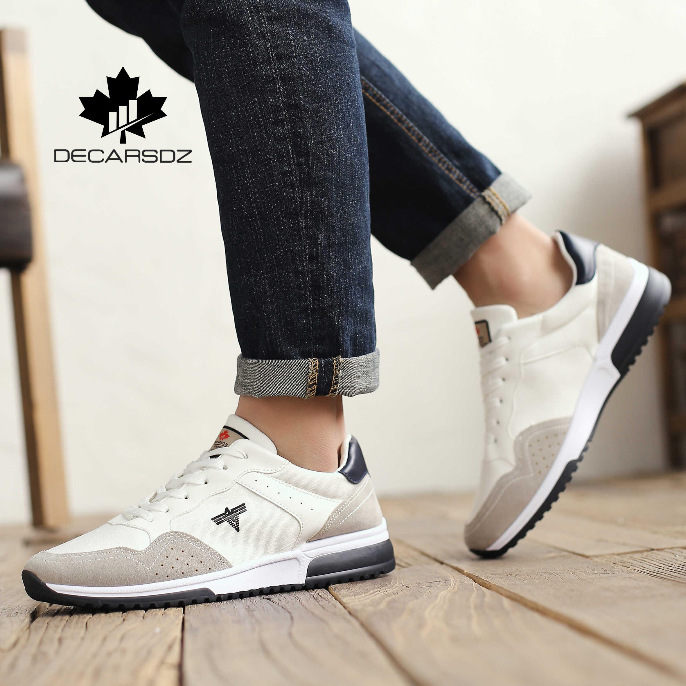 DECARSDZ Sneakers erkekler için 2020 bahar koşu ayakkabıları erkek marka rahat spor erkek ayakkabıları erkek moda yürüyüş gündelik erkek ayakkabısı