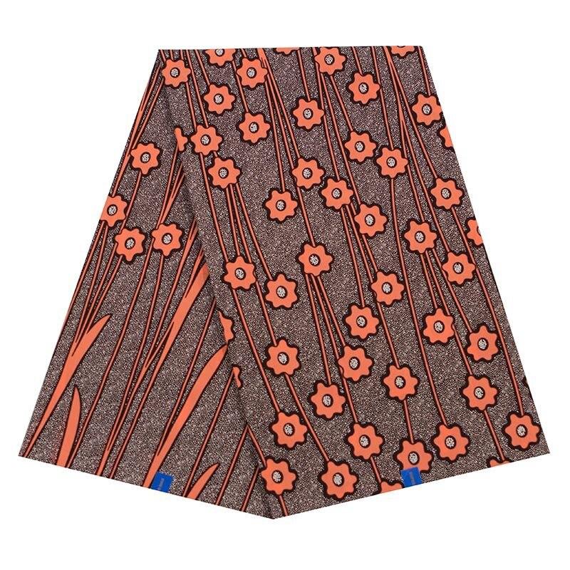 100% Cotton 2019 New Arrivals Fashion African Floral Print Real Wax Fabric Veritable Ankara Wax
