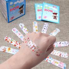 Emergency-Kit Bandages First-Aid Cartoon-Band Waterproof 100pcs Adhesive Breathable PE