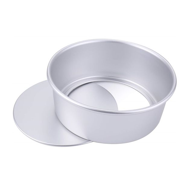 Round Cake Pan with Removable Bottom