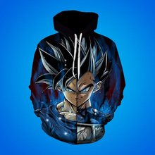 Cross Border Foreign Trade Men's Wear 2019 New Seven Dragon Ball Super 3d Digital Printing Hoodie focus on cross border fast selling oil paint snoopy digital printing 3d t shirt direct sale by foreign trade manufacturers