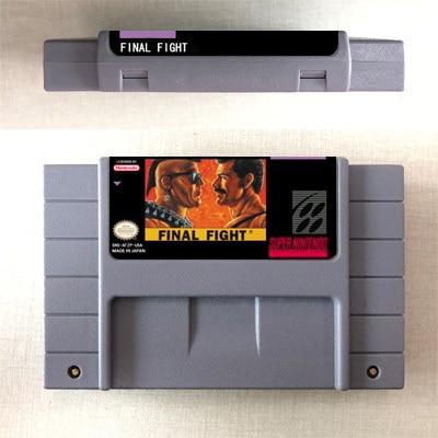 Final Fight or Final Fight 2 or Final Fight 3 or Final Fight GUY  Action Game Card US Version English Language