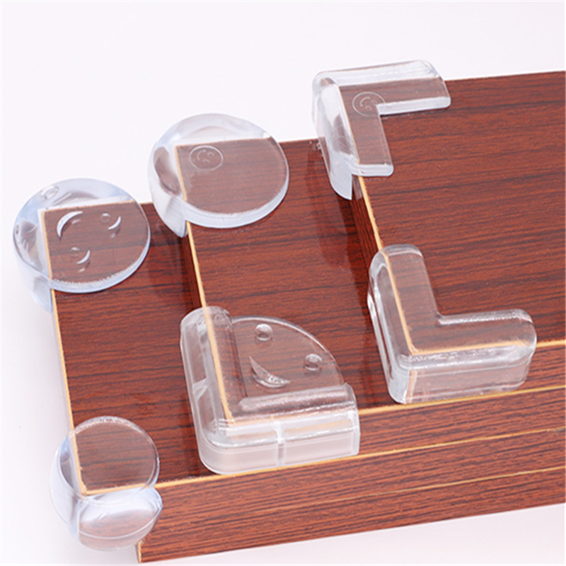 4Pcs/set Baby Safety Transparent Protector Cover Table Corner Guards Children Protection Furnitures Edge Corner Guards