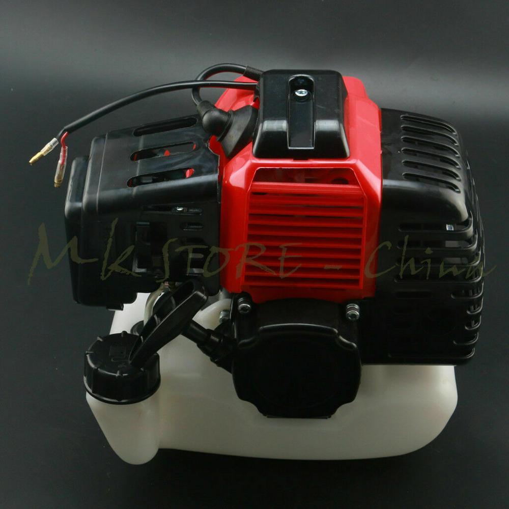 50cc 43cc 47cc 49cc 2 тактный двигатель + бензиновое топливо W/Бензобак для скутеров, ездовых косилок ATV