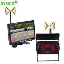 Drahtlose wifi Reverse oder Vorne Kamera IR Nacht Vision für Lkw Bus Auto Rückansicht Kamera mit Monitor 7 zoll
