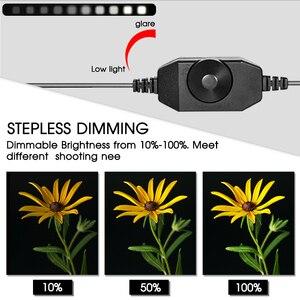 Image 2 - Estúdio fotográfico com iluminação regulável, caixa de luz dobrável para viagem, 80x80cm, 31.5 polegadas, tenda de fotografia kit de