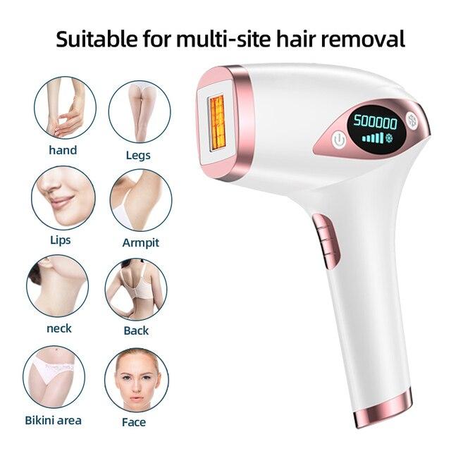 IPL Hair Removal Epilator A Laser Permanent Hair Removal Machine For Face Body Leg Bikini Electric Depiladora Laser Epilator Beauty & Health