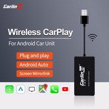 Carlinkit usb sem fio apple carplay dongle e android auto para modificar android serviços de carro venda automática iphone autokit espelho kit