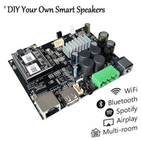 Up2Stream AMP WiFi and Bluetooth 5.0 Audio Amplifier Board Module Wireless Class D Multi room DLNA Airplay Spotify Free APP