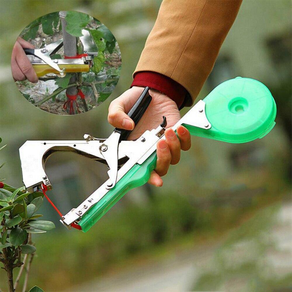 Plant Of With Staple Machine Gun Vegetable Tapener Of Pepper 1 Tapetool Tying Tape Gardening For Rolls Green Box 10 Grape Flower