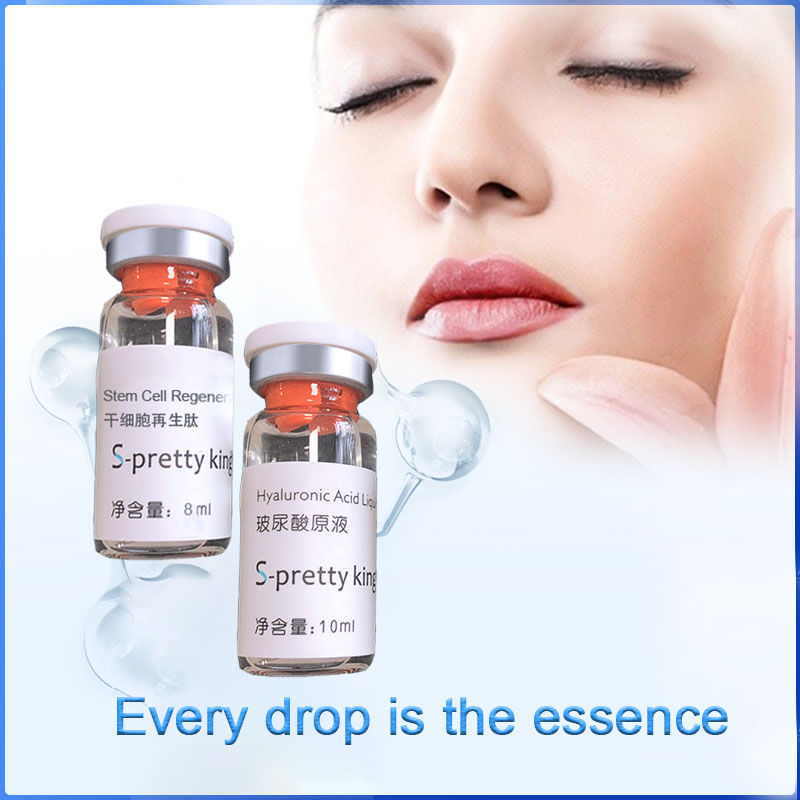 Image 2 - Hyaluronic Acid liquid and Stem Cell Regenerated Peptide for skin Rejuvenation Anti aging and face body filling-in Tattoo Tips from Beauty & Health