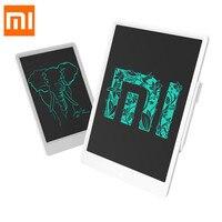Xiaomi mijia 10/13. 5 polegada crianças lcd escrita pequena placa preta tablet com caneta digital desenho eletrônico imagine almofada Painéis e LCDs p/ tablet     -