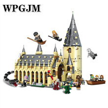 926PCS Movie Sets 16052 Compatible Legoinglys Model Building Kits Castle Hall Christmas Blocks Toys