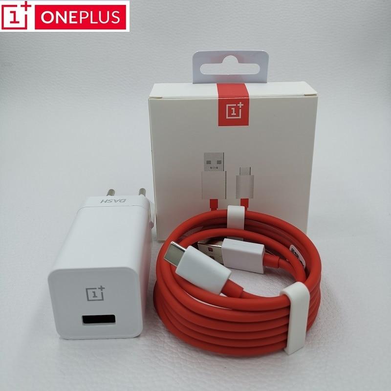 Chargeur Oneplus 6T Dash EU d'origine, 5V/4 A, charge rapide, 1m/1,5 m, USB type C, câble et adaptateur secteur mural pour One plus 6T, 5T, 5, 3T, 3