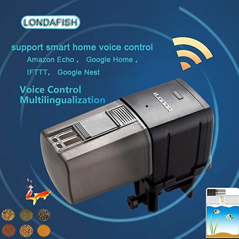 Аквариум для рыб Интеллектуальный Wi-Fi Фидер для рыб Автоматический фидер приложение таймер количественный контроль