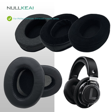NULLKEAI Replacement Thicken Earpads For Philips SHP9500 SHP9500S Fidelio Series Headset Upgraded Comfy Memory Sponge Cushion