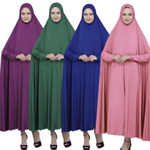 Одежда для молитвы мусульманский кафтан хиджаб платья maxi свободная
