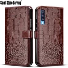 Para samsung galaxy a50 caso da aleta de couro para coque samsung a50 caso do telefone galaxy a50 a 50 a505f funda magnética carteira capa