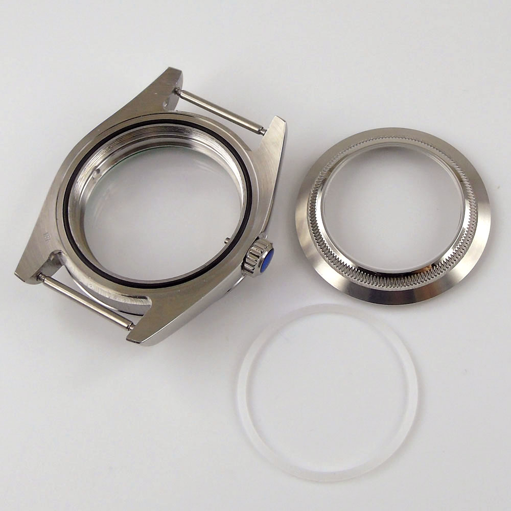 safira vidro relógio caso substituição