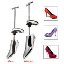 1 sztuk regulowane buty drzewa dla kobiet mężczyzn buty nosze Shaper Keeper wsparcie stopu aluminium pojedynczy trzpień szerokość Shaper buta tanie tanio BSAID Metal Shoe Stretcher Stałe