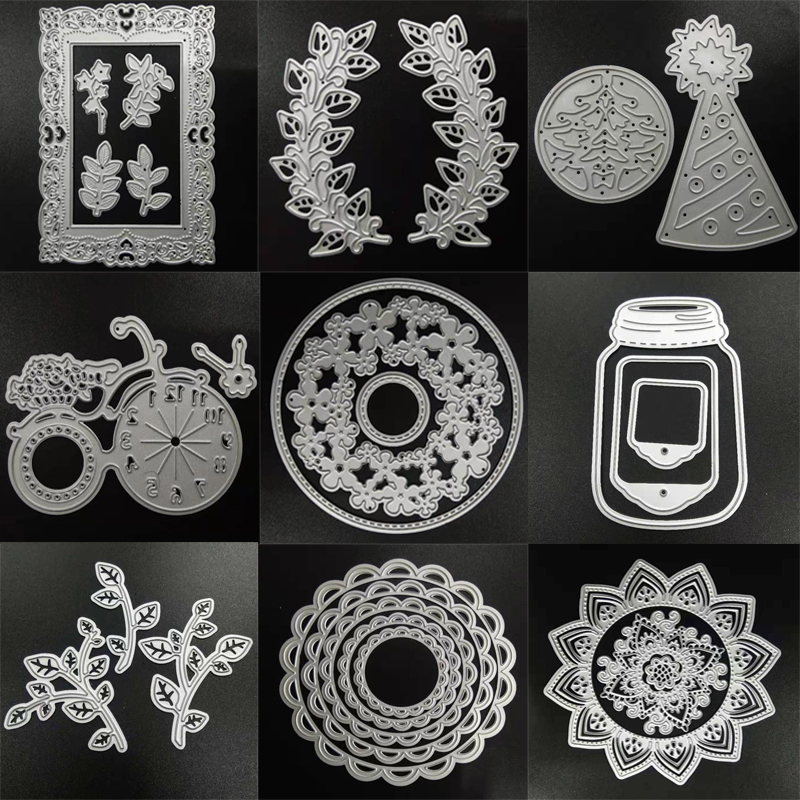 ZATWBS Different Styles Cutting Dies For DIY Scrapbooking Decoretive Embossing Stencial DIY Decoative Cards Die Cutter