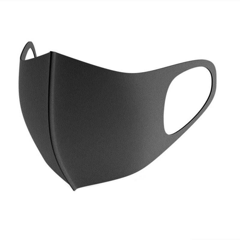1Pcs Winter Face Mask Dustproof  Black Mouth Mask Women Men Cloth Anti Haze Dust Reusable Mouth-muffle Masks Washable Wholesale