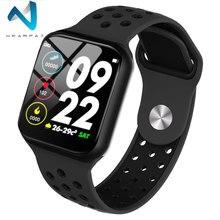 Wearpai F8 inteligentny zegarek mężczyźni ciśnienie krwi wodoodporny Smartwatch kobiety tętno tracker do monitorowania aktywności fizycznej zegarek Sport dla androida