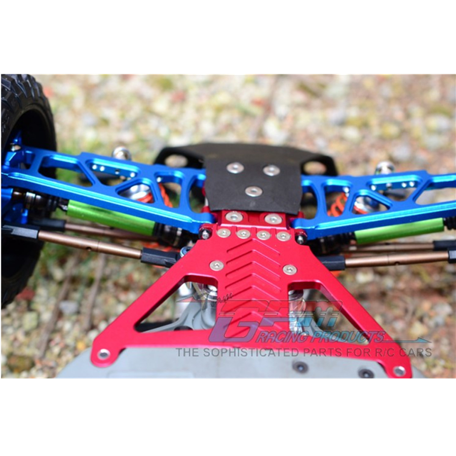 Rc Car Chassis Front Gearbox Aluminum Alloy Base With Screws Set Fit For 1/10 Scale TRAXXAS SLASH 4X4 MODEL Toys Cars SLA330LCG