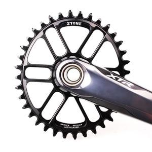 Image 5 - Plato ovalado para bicicleta de piedra, soporte directo para M9100, M8100, M7100, refuerzo de Dientes anchos estrecho, 30T 40T, 12 velocidades