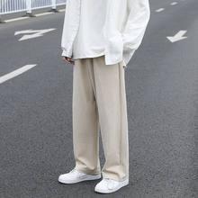 Pantalon plissé à jambes larges pour homme, Streetwear ample, Hip-hop, à la mode, printemps été