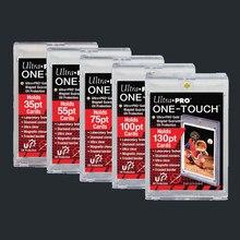 Original Ultra Pro cartes briques Football cartes brique un support tactile Semi rigide chargeurs supérieurs protéger 35/55/75/100/130/180/360PT