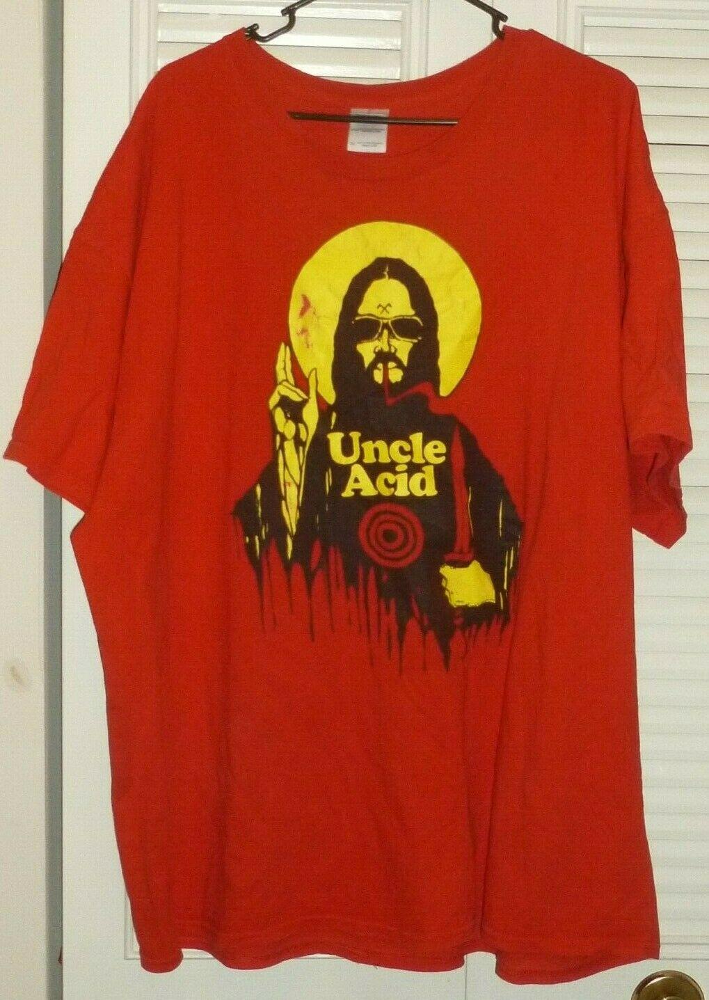 Uncle Acid Shirt Rock Metal Doom 3Xlarge 100% Cotton T-Shirt And The Deadbeats