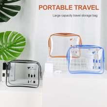Косметичка портативная ПВХ сумка для путешествий на открытом