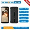 Глобальная версия HOMTOM HT80 NFC Функция IP68 водонепроницаемый смартфон Android 10 0 5 5 дюймов Беспроводная зарядка SOS мобильный телефон new2019