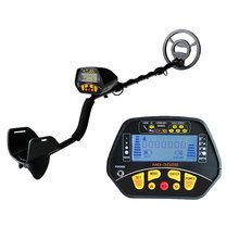 MD-3028 Metal Detector with Pinpoint, Adjustable DISC Function Lightweight Gold detector with Waterproof Coil