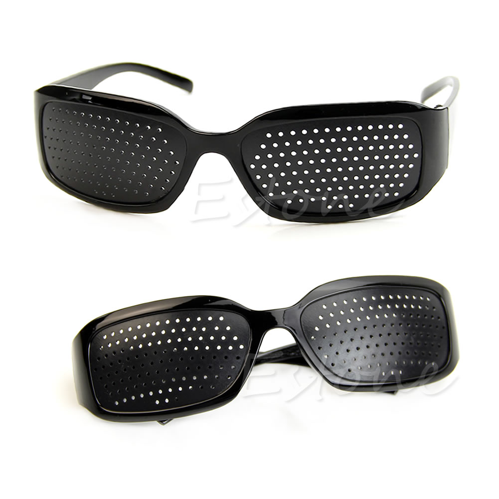 Eyesight Care Stenopeic Glasses Vision Anti-fatigue Improver Pin Pinhole Glasses 649C